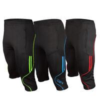 Slim Men's Soccer Football Athletic Training Running Track 3/4 3-Quater Pants