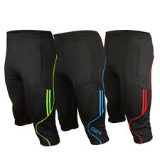 Short Men's Soccer Football Athletic Training Running Track 3/4 3-Quater Pants