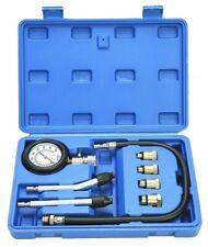 Professional Petrol Gas Engine Cylinder Compression Tester Gauge Set Auto Motor