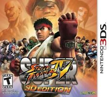 NINTENDO DS 3DS GAME SUPER STREET FIGHTER IV 3D EDITION BRAND NEW & SEALED