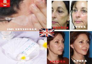 Face Lift Tapes 40Pcs Women Face Label Lift Up Chin Adhesive Tape Beauty UK