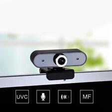 Cámara web Full HD micrófono Webcams Computadora PC de escritorio Video llamada