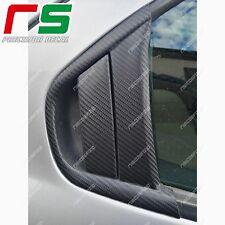 alfa romeo 156 ADESIVI maniglie portiere post sticker decal carbon look 4D