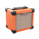 Aroma AG10OR 10W Orange Electric Guitar Portable Amplifier for sale