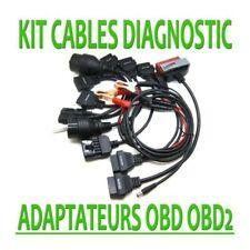 Lot de 8 Câbles additionnel pour Autel CDP+ DS150e VALISE DIAGNOSTIQUE AUTO