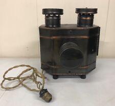 Antique Keystone Radioptican Postcard Lantern Projector Cleveland OH