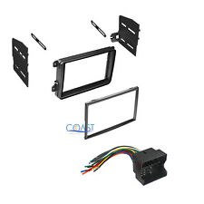 Single Double DIN Install Stereo Dash Kit with Harness for 2005-2010 Volkswagon