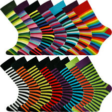 Mysocks Unisex Striped Socks Made of Finest Combed Cotton