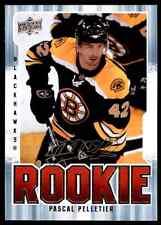 2008-09 Upper Deck MVP Rookie Pascal Pelletier Rookie #314