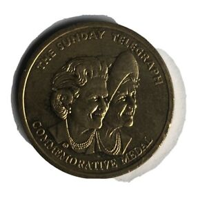 Queen Elizabeth The Queen Mother Daily Telegraph Issued Coin