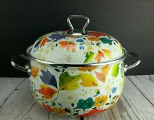 New listing The Pioneer Woman Flower Garden Enameled Dutch Oven