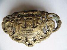 FRANCE  :  clavier d'épée XIXème siècle /  ecole des mines de saint-etienne