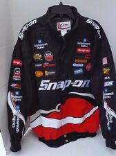 Nascar Bomer Jacket Chase Authentics Driver Kevin Harvick American Flag Mens XL