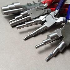 6 in 1 & 3 passo Wrap N RUBINETTO Pinze Jewelry wire cauzione rendendo Strumento 16 Taglie 4 PZ