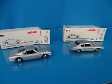 Marklin 1803 Set of 2 cars scale 1:43 Blank metal FORD