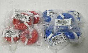 Trix 66885 / 66886 Anschlussdraht / Kabel Rot und Blau 0,75mm2 100m