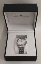 BNIB MAURICE LACROIX Aikon Gents Quartz Silver Stainless Steel Stylish Watch