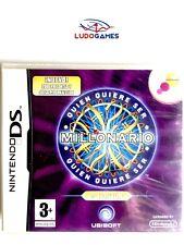 Quien quiere ser Millonario? Nintendo DS PAL/SPA Precintado Videojuego Nuevo New