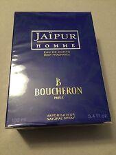 Jaipur Homme Boucheron 3.4 oz Eau De Corps Natural Spray Sealed NIB