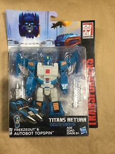 Topspin 100% Complete Deluxe Generations - Titans Return Transformers
