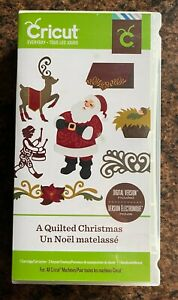 Cricut Cartridge - A Quilted Christmas - Images, borders, cards and more