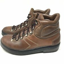 Vintage Lowa Leather Hiking Mountaineering Boots Made In Germany Men's 10.5 M