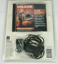 Meade #506 Astrofinder With CD And Cable New Factory Sealed RARE Discontinued