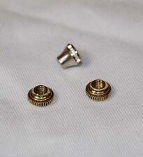 Conn 80A CONNSTELLATION 22B brass/nickel stop rod nuts