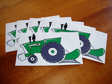 """6 PK """"Oliver tractor"""" Fans -Original Artwork DECAL/STICKER """"Tractor Swag Series"""""""