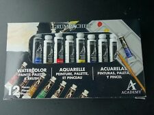 grumbacher watercolor paint palettes for sale ebay