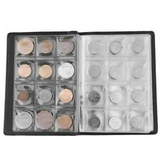 120 Slots Coin Album Holder Storage Collection Collecting Stock Pocket