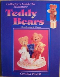 ANTIQUE MINI TEDDY BEARS PRICE GUIDE COLLECTORS BOOK