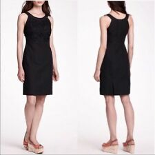 0efc5d7ad8 Retail  188 Anthropologie Postmark Black Oleander Linen Dress