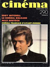 Mag 1983: EDDY MITCHELL_JACQUES DEMY_MAX DEUTSCH_CINEMA BULGARE
