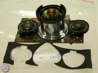 Rollei 35 Kamera Gehäuse Objektiv Linse Front Teil Camera Body Lens Part 110/9