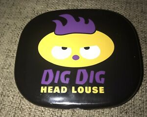 PARASITE PALS ACCOUTREMENTS DIG DIG HEAD LOUSE COMPACT MIRROR & COMB SET Funny!