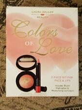 Laura Geller Blush Pink Valentine Colors of Love Set Kit New in Box 2 piece