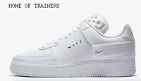 Nike Air Force 1 Type White White White Men's Trainers All Sizes