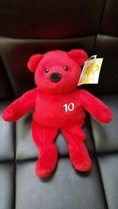 Nutrisystem 10 lb Weight Loss Achievement  Plush Bear NWT beautiful