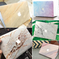 "Marble Hard Shell Case Keyboard Cover Macbook Pro/Air 11 12 13 15""Touch Bar 2018"