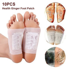 10Pcs Fusspflaster Detox Entgiftung Foot Pads Vitalpflaster Entschlackung Set