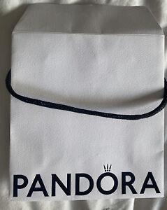 Pandora Small Gift Bag with Black Handle