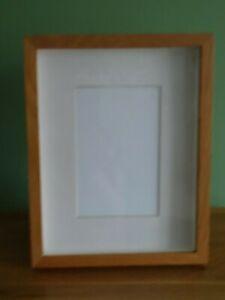 Deep-Box Wooden Photo Frame