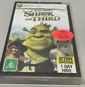 Shrek The Third Xbox 360 Game PAL