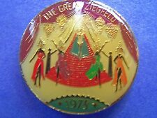 XRare 1978 Mid-City THE GREAT ZIEGFELD Multi-Color Mardi Gras Doubloon-Cream+Grn