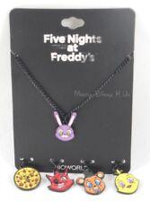 Nouveau Five Nights At Freddy's Personnage Interchangeable Collier Pendentif Set