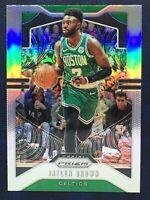 2019-20 Panini Prizm Basketball Silver Prizm #40 Jaylen Brown Boston Celtics