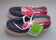 Croc's Hover Boat Navy White Shoes Men's Size 11 NWT