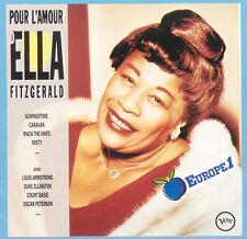ELLA FITZGERALD Pour L'Amour D' Ella FR Press Verve 839238-2 1989 2 CD
