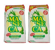 2 Maseca Gluten Free Instant Corn Flour Masa de Maiz Harina 4.4 lb 2 kg Fresh